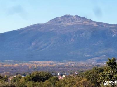 Sabinar y Valle de Lozoya; ruta por cuenca pantano burguillo mochila aventura